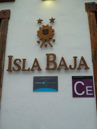 Isla Baja Suites: entrée