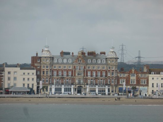 Bay Royal Weymouth Hotel Front