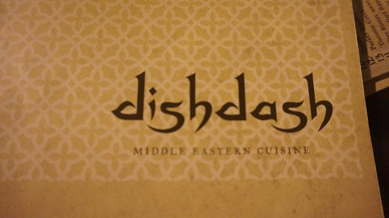 Dishdash: 메뉴판