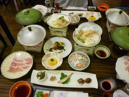 Yorokobi no Yado Takamatsu (Hotel Takamatsu): 満足な夕食