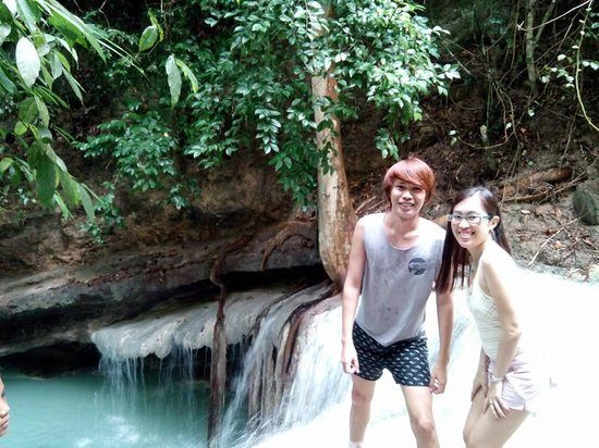 Aguinid Falls: Cool breeze with cool water.