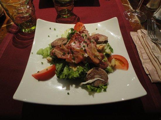 Le Saint Pelerin: plat