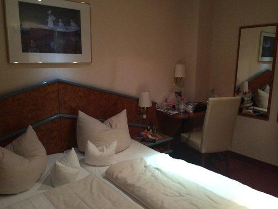 Hotel Goldene Rose : Small room!