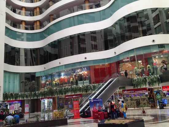 WelcomHotel Dwarka: View from the Mall 2