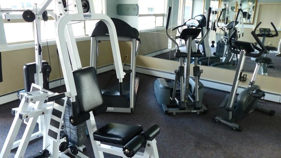 Red Arrow Inn & Suites: fitness area