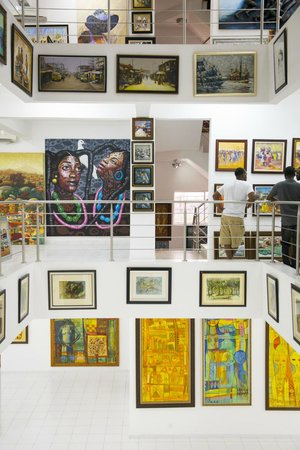 Lagos, Nigeria: Nike Art Centre - Four floors