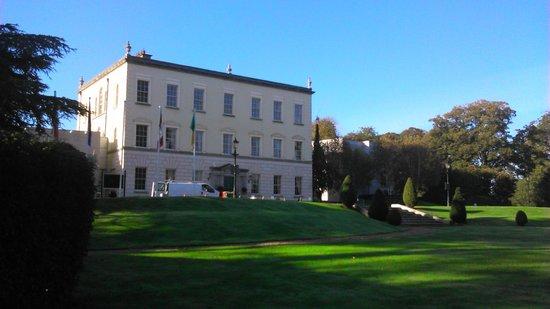 entrance view picture of dunboyne castle hotel and spa. Black Bedroom Furniture Sets. Home Design Ideas
