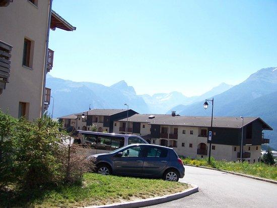 Résidence Goélia Les Flocons d'Argent : vue depuis la résidence quand vous avez la chance d'être en hauteur