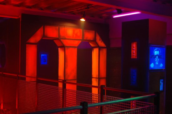 Laser Quest Sheffield: battle zone