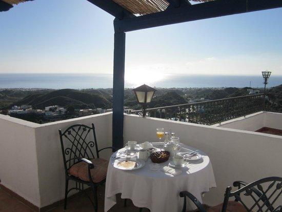 Hotel Restaurante Mamabels: Buena Vista Hotel Mamabels in Mojacar