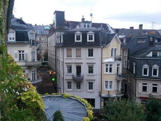 Hotel zum Goldenen Lowen : View from the room window