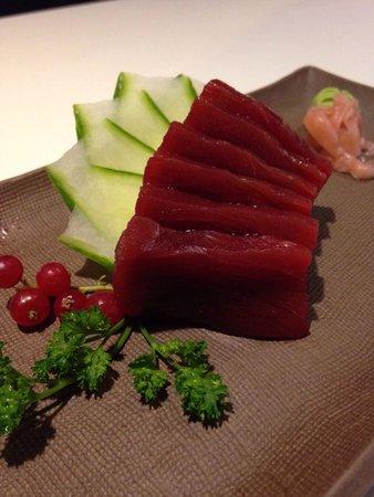 Zensai : Tuna sashimi