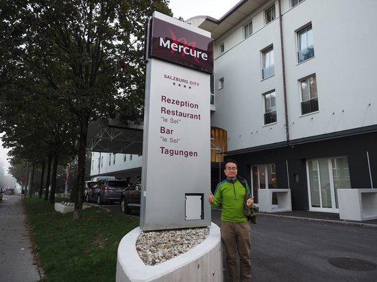 Mercure Salzburg City: 落ち着いたホテルです。