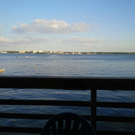View from Columbia Restaurant