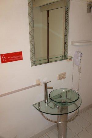Hotel Casa Suiza: Toilet