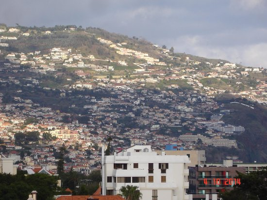 Enotel Quinta do Sol : View of Funchal from roof top