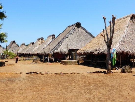 Kelimutu Crater Lakes Eco Lodge, Moni, Flores: Traditional village