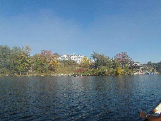 Jw Marriott The Rosseau Muskoka Resort Spa Hotel View From Lake