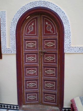 Riad ABHAR: door, riad 1