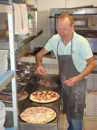 Le Bouchon: Pizza maison