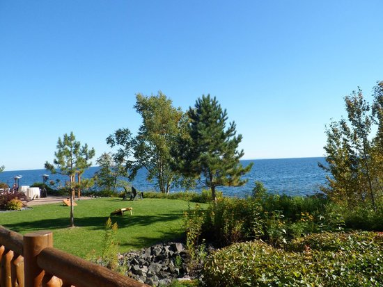 Grand Superior Lodge: View from the room