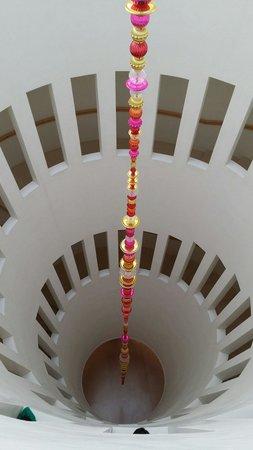 Leeum Samsung Museum of Art : Stair case exhibit