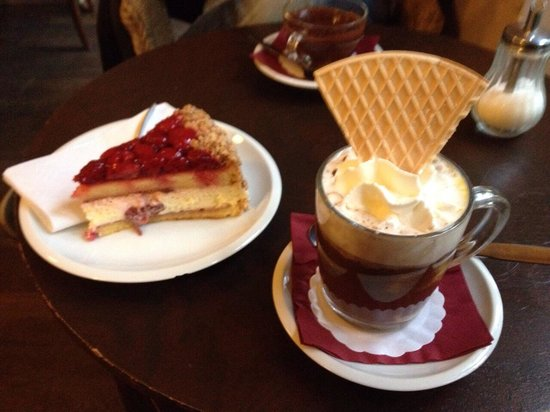Choco Cafe U Cervene Zidle : Ottima e sostanziosa merenda