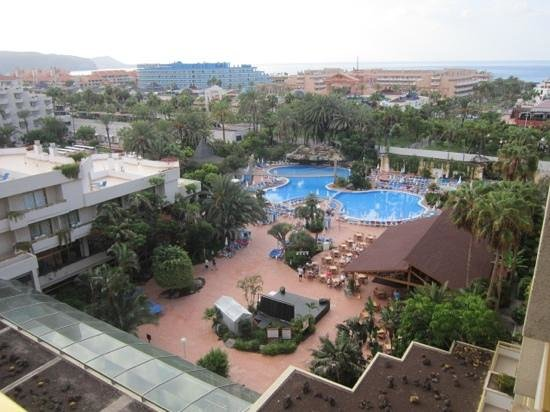 Hotel Best Tenerife: view from balcony room 600