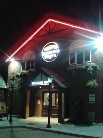 Premier Inn Blackpool (Beach) Hotel : The pub next door