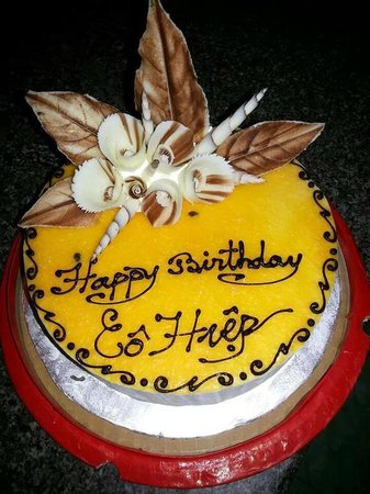Chu Teo Quan Passion Fruit Birthday Cake