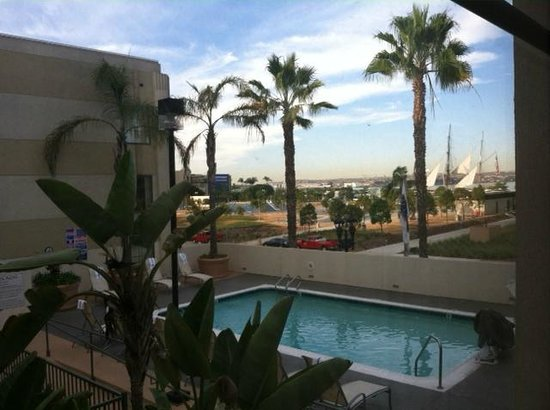 Hampton Inn San Diego - Downtown: View from our room, 302.