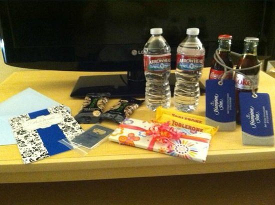 Hampton Inn San Diego - Downtown: Gift bag!