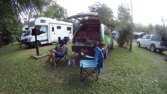 Cape Tribulation Camping: Powered site