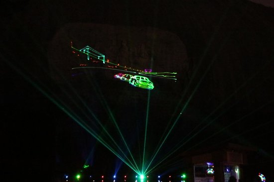Lasershow Spectacular at Stone Mountain Park : Lasershow