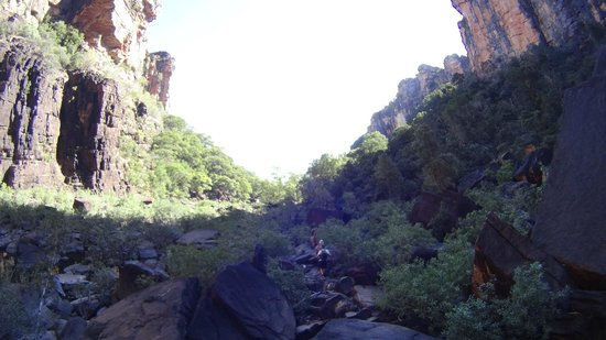 Kakadu Tourism: Going back from Jim Jim Falls