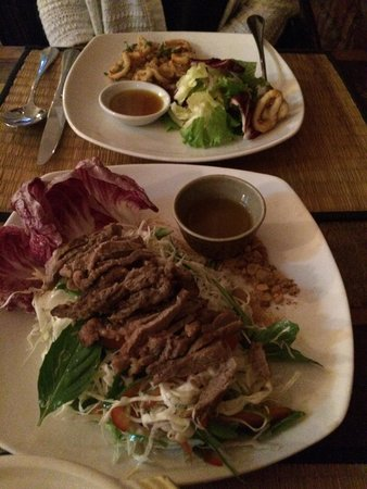 New Leaf Eatery: Beef salade