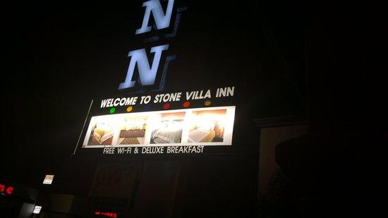 Stone Villa Inn San Mateo - San Francisco SFO : advertise Deluxe breakfast