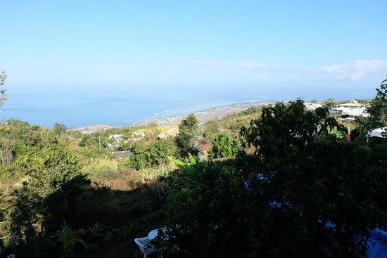 Belvédère de la Gospa : Vue sur l'océan depuis la terrasse
