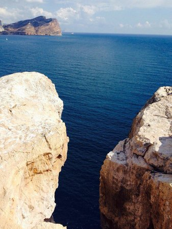 Isla de Benidorm (L'illa de Benidorm): Once you get to top this veiw you get