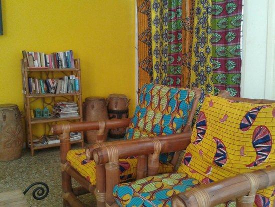 Agoo Hostel : living room