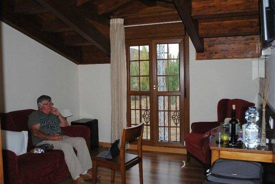 Hotel Milagros Rio Riaza: Sitting room