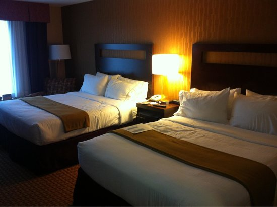 Holiday Inn Express Gillette: Third floor room