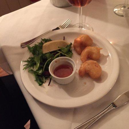 Bell House Hotel Restaurant & Bar: Amazing prawns