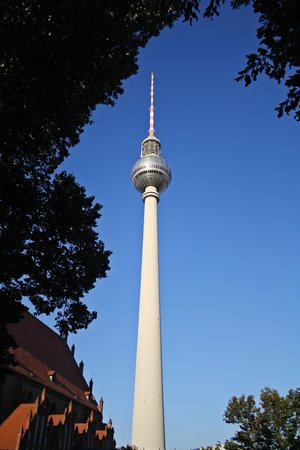 Berliner Funkturm: De buitenkant