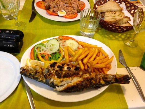 O Boteco : Sea Bass with chips (If you like!)