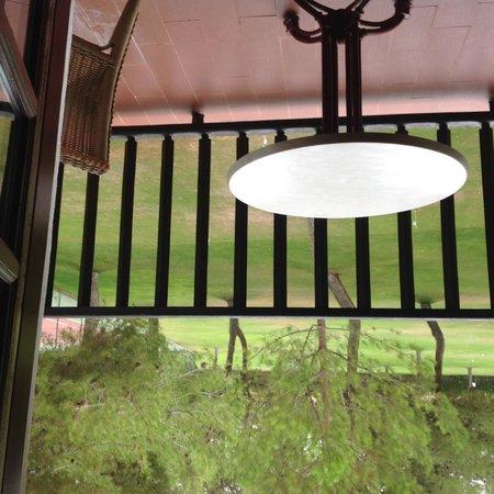 Parador de Albacete: View from our room, uninspirational