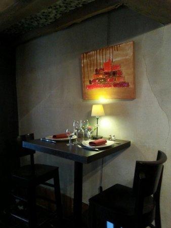 Ma table: Un petit coin pour les amoureux. ..