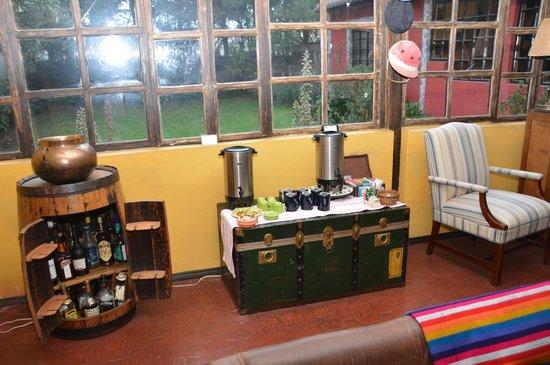 Hacienda Hato Verde: Coffe, Tea and drinks