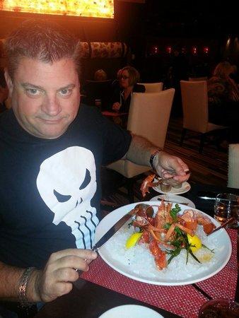 David Burke Prime: Lobster cocktail