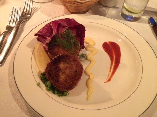 Restaurant House Piccolo: Crab Cakes